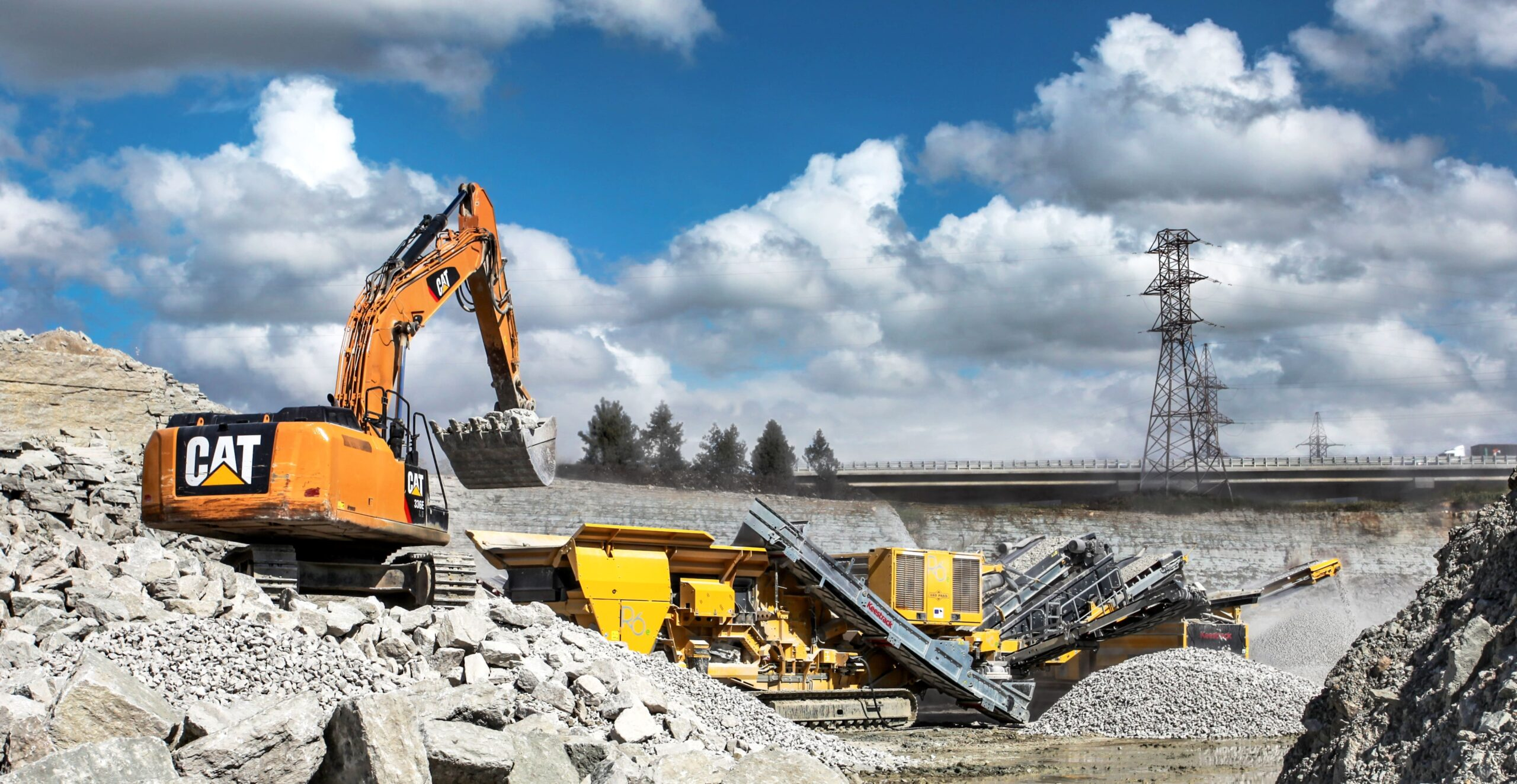 Paekivitoodete Tehas sold another Keestrack mobile stone crusher