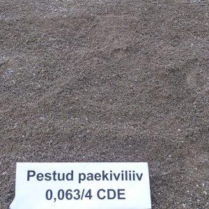 Pestud paekiviliiv 0,063/4 CDE