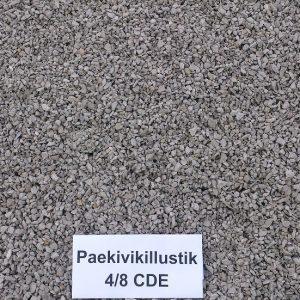 Paekivikillustik 4/8 CDE
