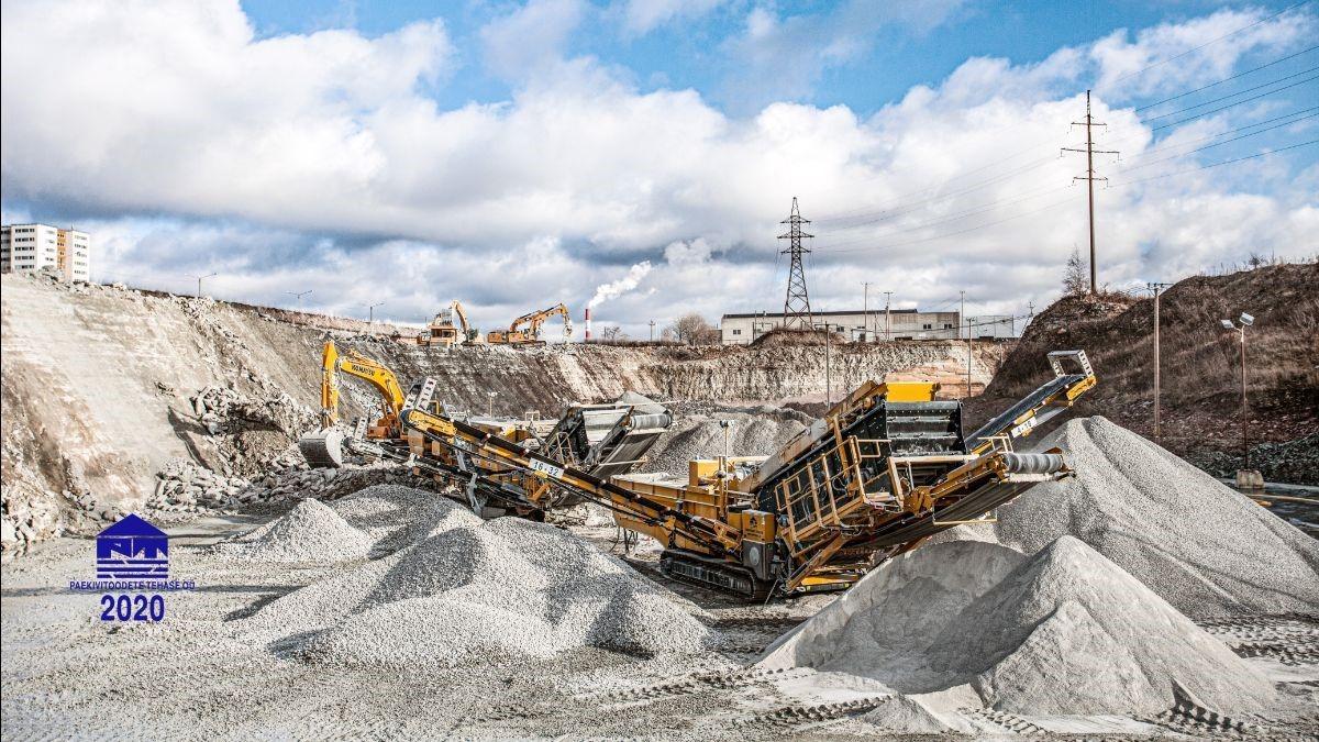 Paekivitoodete Tehase OÜ ja Keestrack kutsuvad Teid 27.-28. augustil 2020 III Balti ehitusmaavarade kaevandajate foorumile Tallinnas Väo karjääris.