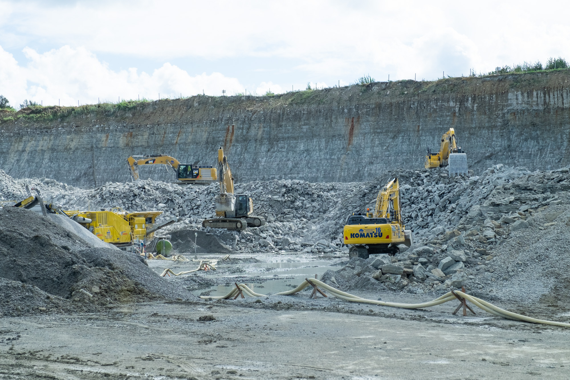 A unique quarry – both in Europe and around the world – lies within the country's capital