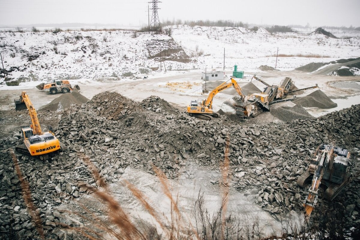 The race of Estonia's largest limestone gravel producer against time has led to an unprecedented situation